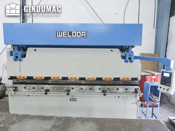 Weldor Hydraulic Press Brake (2014)