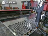 Working room of AMADA ARIES 245 machine