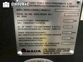 Nameplate of AMADA Vipros 2510 King Machine