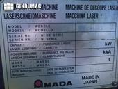 Nameplate of AMADA LC 2415 a3 Machine