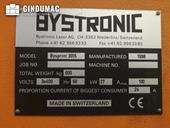 Nameplate of Bystronic BySprint 3015 Machine