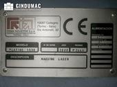 Nameplate of Prima Power Platino 1530 Machine