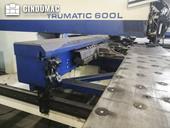 Working room of Trumpf Trumatic 600L Machine