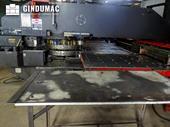 Working room of AMADA Vipros 357 machine