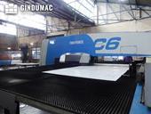 Working room of Finn-Power C6 machine