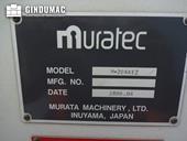 Nameplate of Murata Wiedemann M-2044EZ Machine