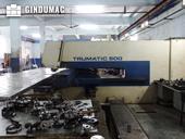 Right view of Trumpf Trumatic 500 Machine