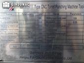 Nameplate of Yangli MP 10-30 Machine