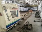 Left view of GEKA ALPS-150 Machine