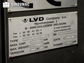 Nameplate of LVD Siena 1225 TK machine