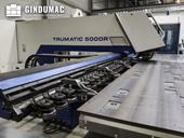 Working room of Trumpf Trumatic 5000 R machine