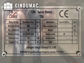 Nameplate of Yangli T30 Machine