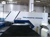 Right view 3 of Trumpf Trumatic 2000 R machine