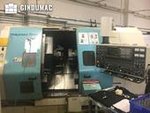 Working room of NAKAMURA-TOME TW-20 MMY Machine