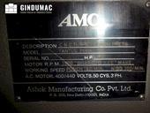 Nameplate of AMC TANTUS 256H Machine