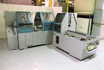 EMI-MEC Microsprint 26 CNC Controlled Automatic Turret Lathe