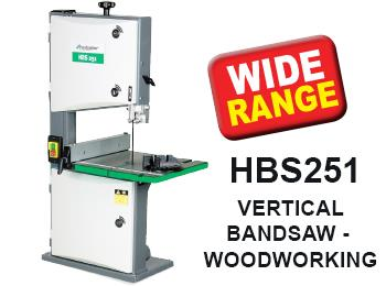 HBS251 Vertical Bandsaw (Woodworking)