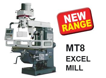 MT8 Excel Mill