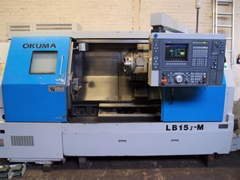 OKUMA LB15 II-M CNC Lathe