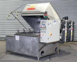 Wheelabrator Clean-Tek Rotary Parts Wash Tank