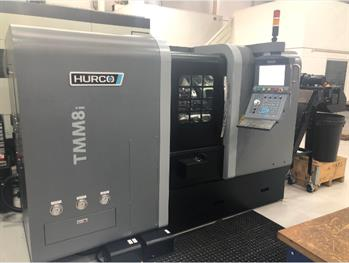 HURCO TMM8i MILL TURN CNC LATHE- 2014