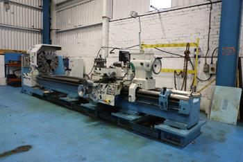 POREBA TPK80 x 4,000mm Gap Bed Centre Lathe