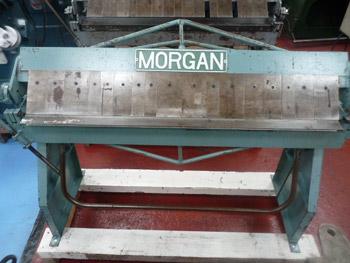 Morgan Hand Operated Box & Pan Folder
