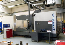 A 2013 CORREA NORMA 25 4 AXIS BED TYPE MACHINING CENTRE & ROTARY TABLE WITH HEIDENHAIN ITNC 530 CONTROL