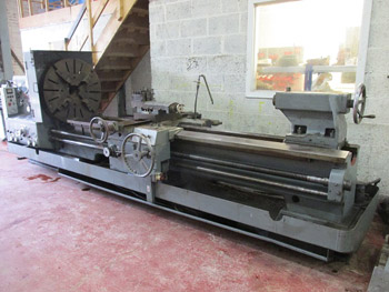 Binns and Berry TB707 Double Gap Bed Lathe
