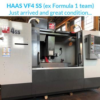 Ex-Formula 1 team, HAAS VF4 SS