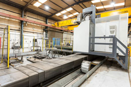A 2018 Correa Fenix CNC Traveling Column Milling Machine
