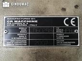 Nameplate of CRM CT16025ISO40HPR Machine