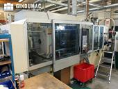 Left side view of Krauss Maffei 110-390/90 CZ  machine