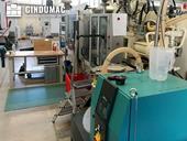 Side view of Krauss Maffei 110-390/90 CZ  machine