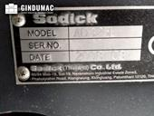 Nameplate of Sodick AD325L  machine