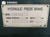 Nameplate of Staklija WC67K-100x3200  machine