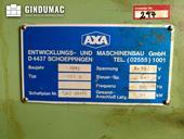 Nameplate of AXA VSC 3  machine