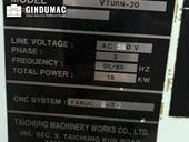 Detail of Victor Vturn-20  machine