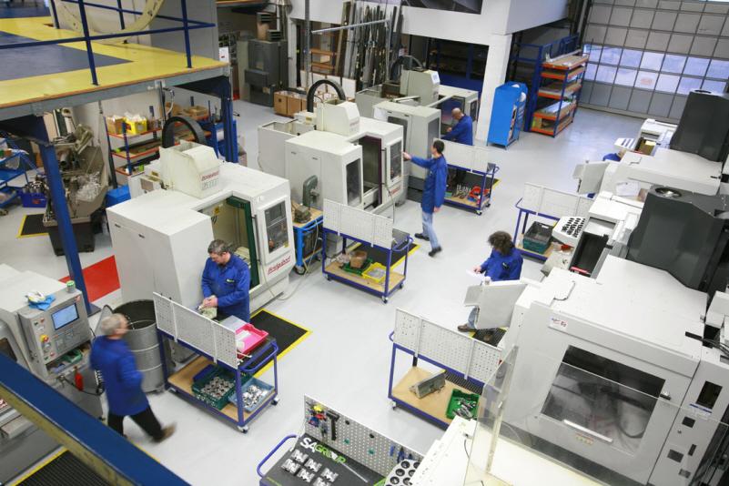 haas machine shop