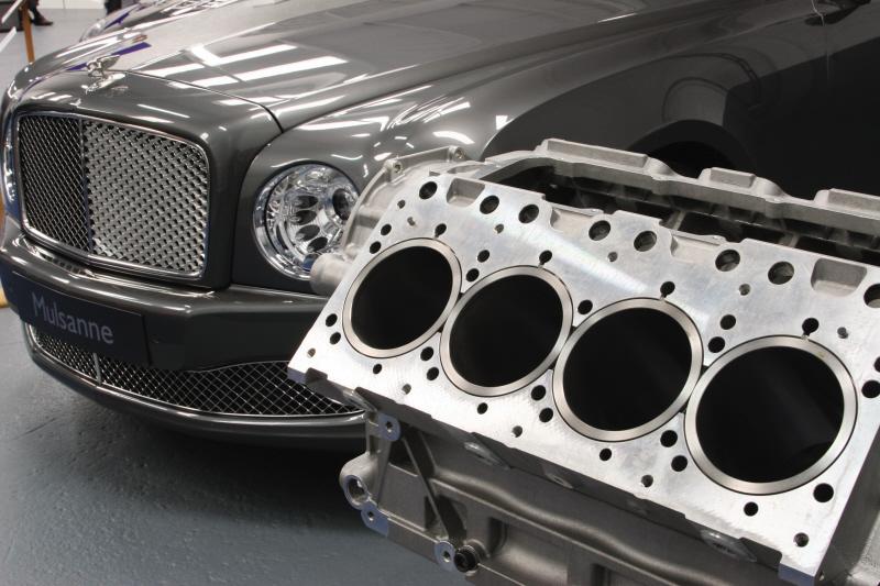 Machinery January Bentley Mulsanne Car Engine Block Grainger And Worrall